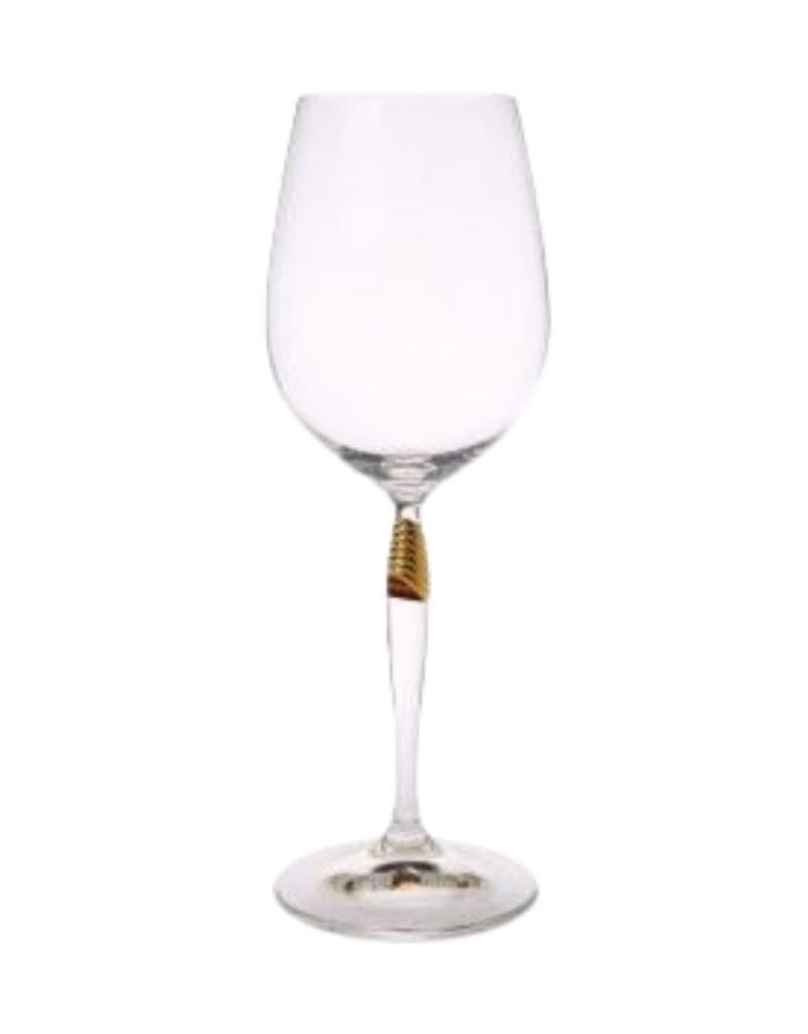Glasses w/ Gold Detail Stem- Set of 6