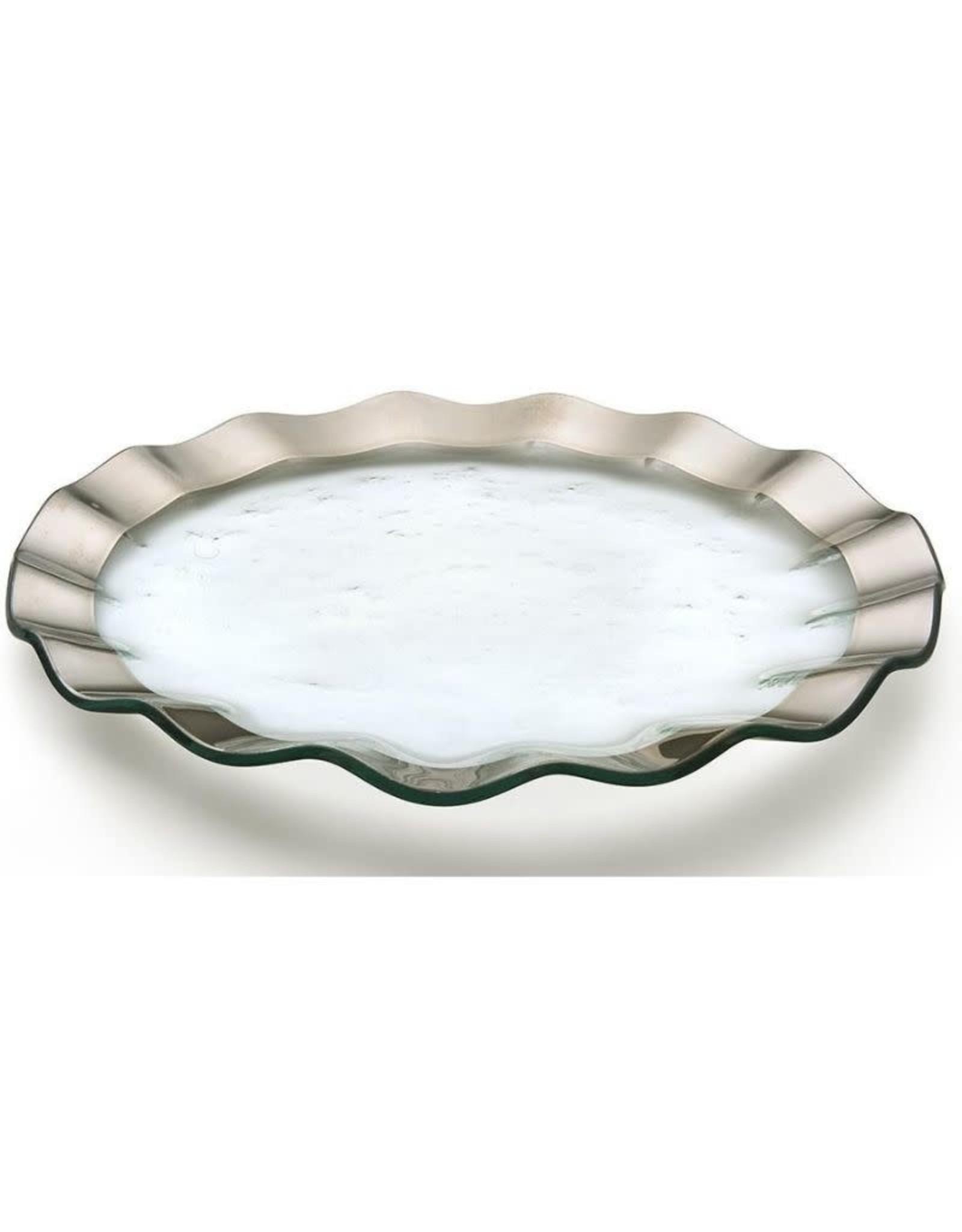 "13"" Ruffle Buffet Plate"