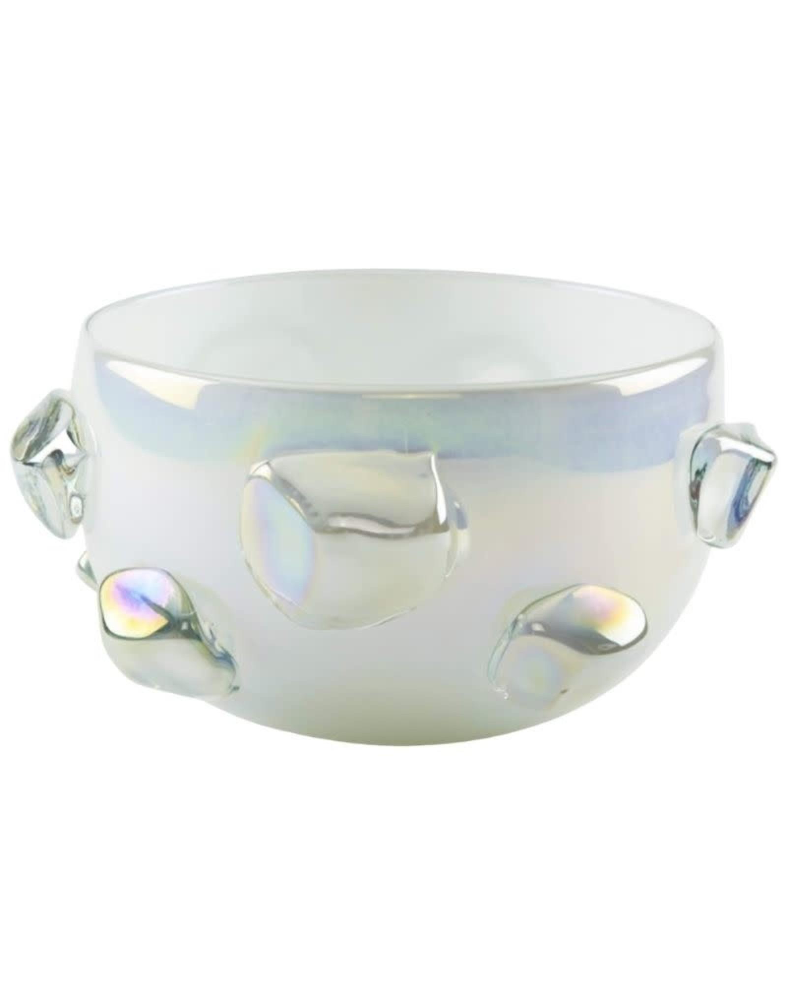 Ice Design Bowl - White