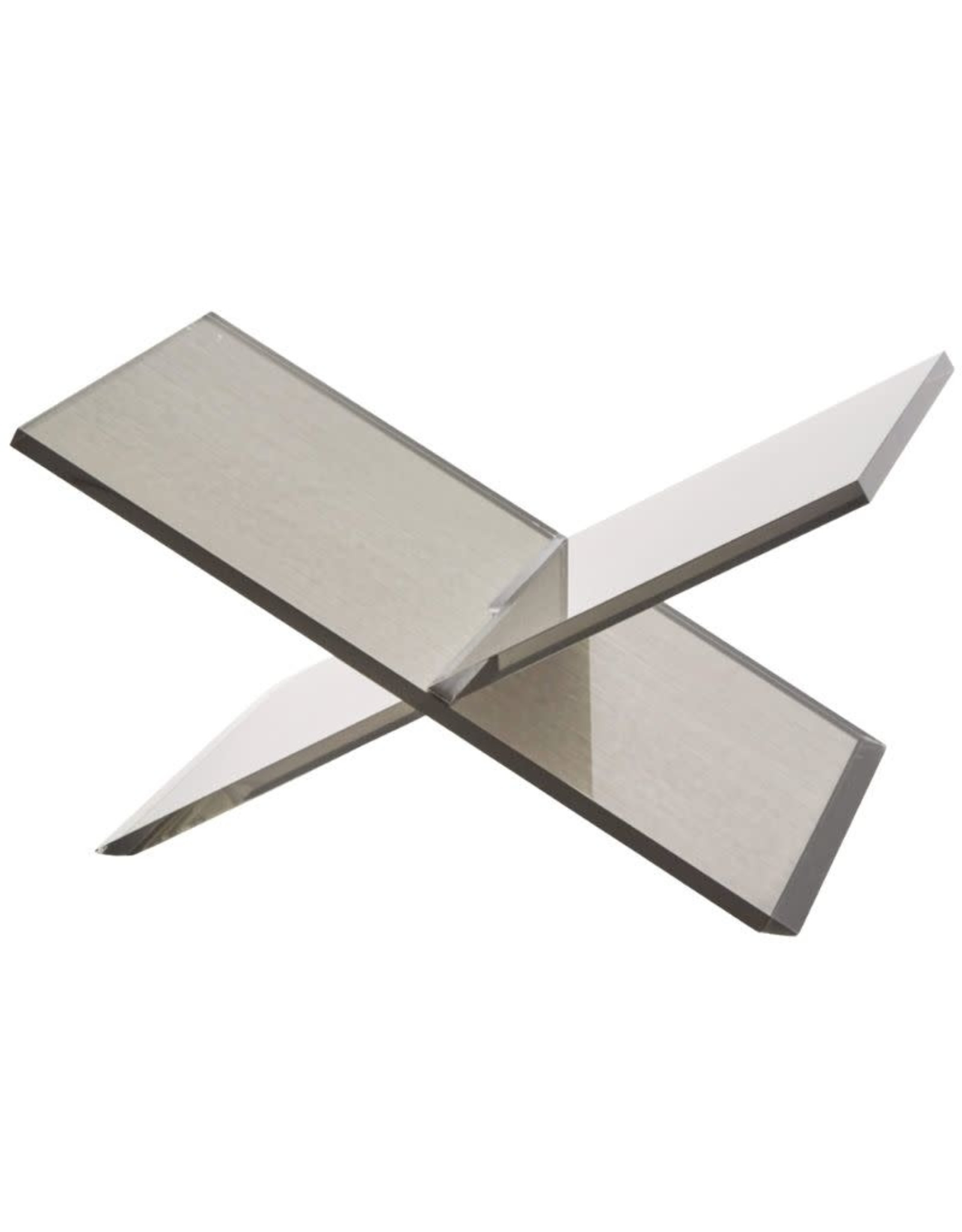 Acrylic Book Stand - Silver