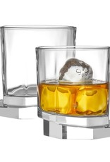 Aqua Vitae Octagon Whiskey Glasses - Set of 2