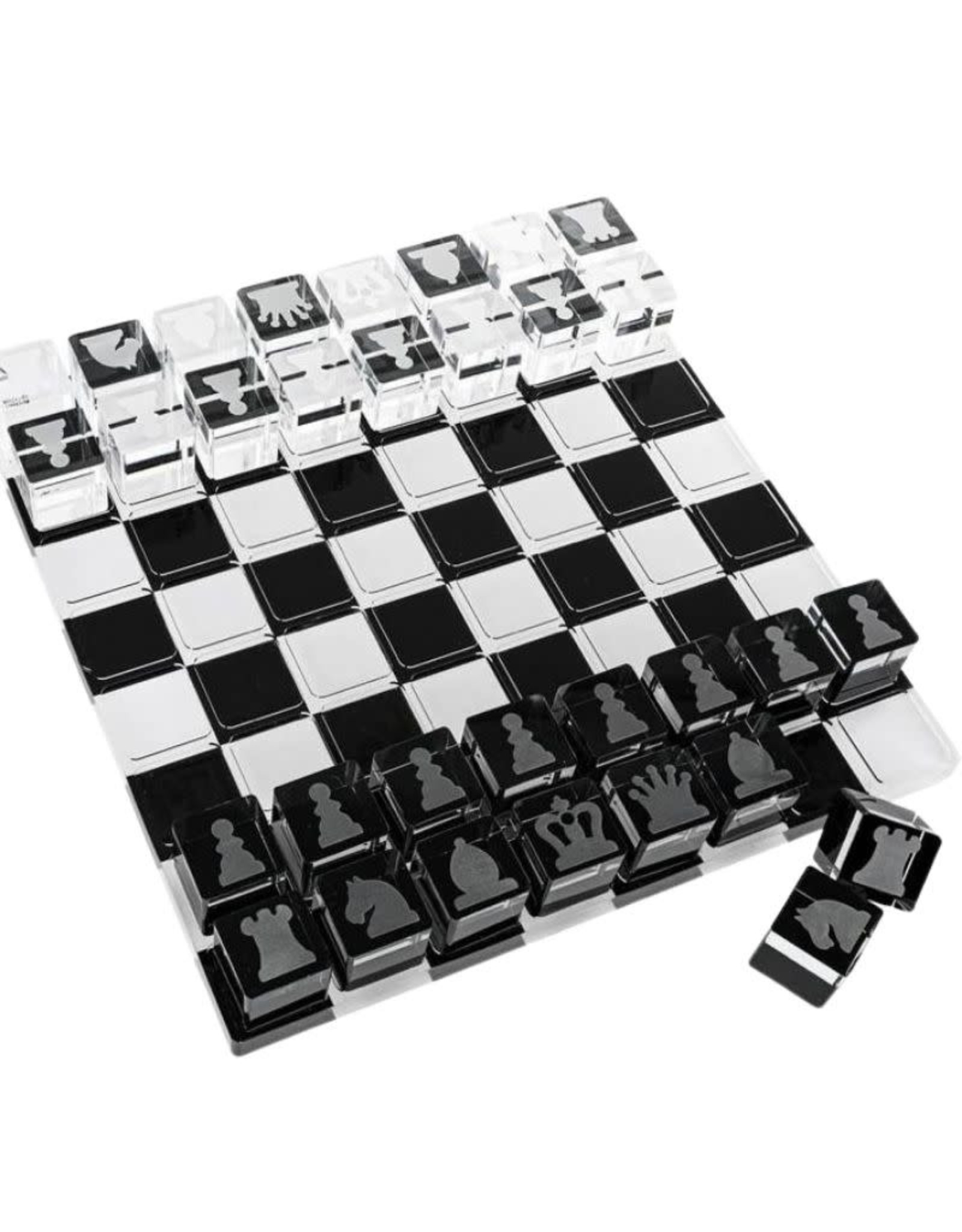 Waterdale Lucite Chess Game