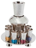 Hammered Fountain-Multicolor