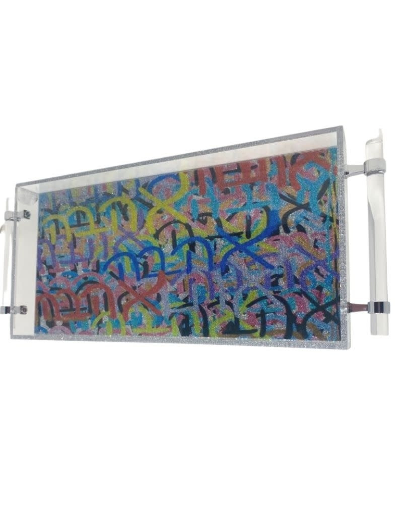 Acrylic 8x16 Tray with Handles- Ahava