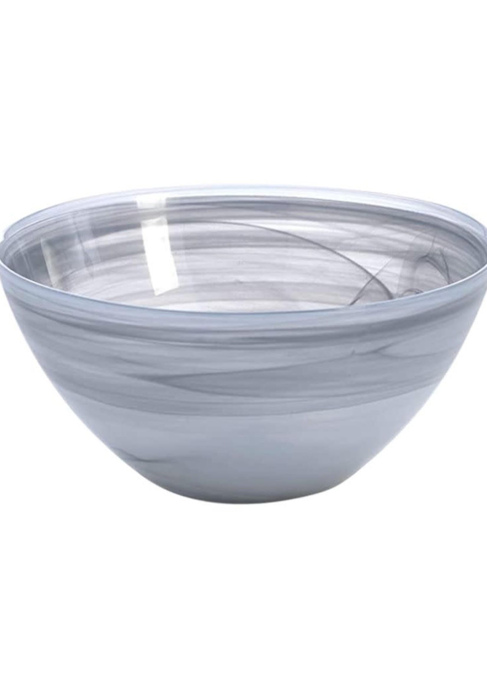 Medium Polished Round Bowl- Stone