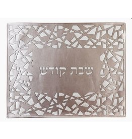 Leather Challah Cover Laser Cut