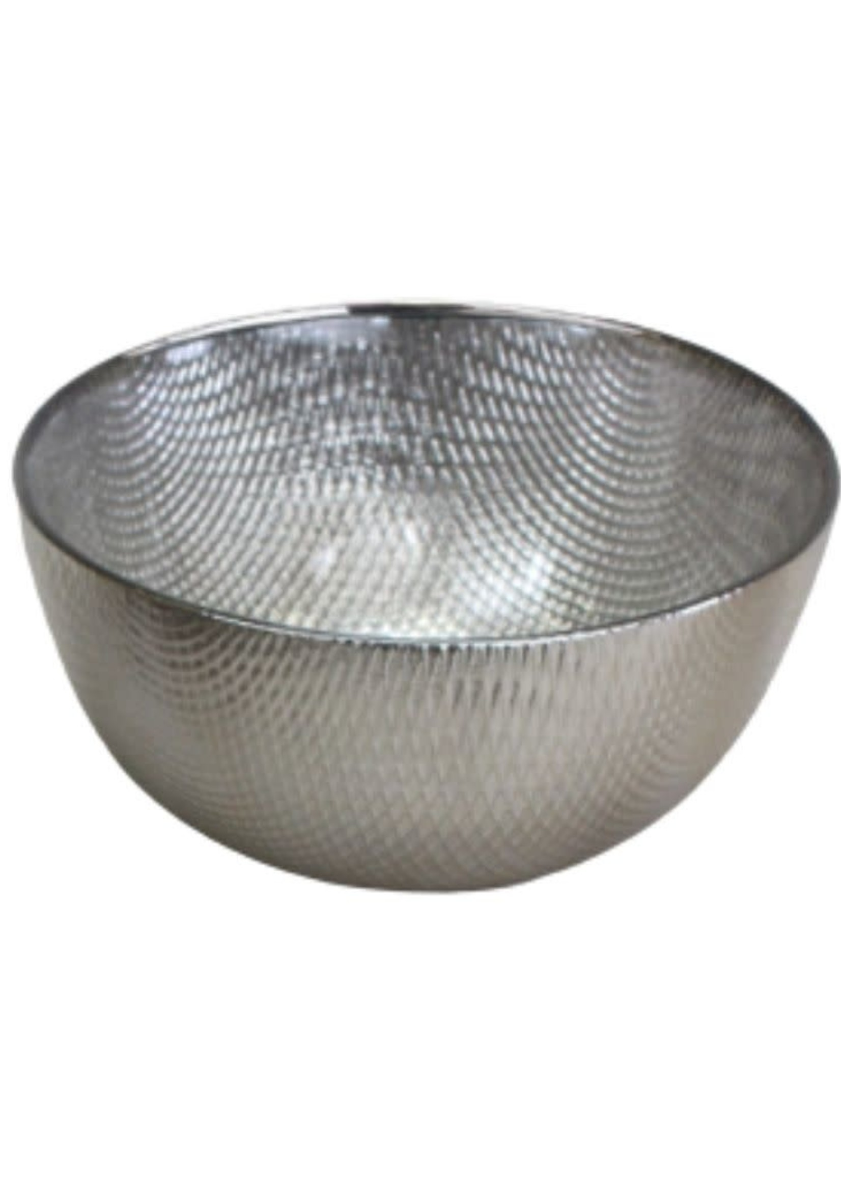Glass Snack Bowl-Champagne
