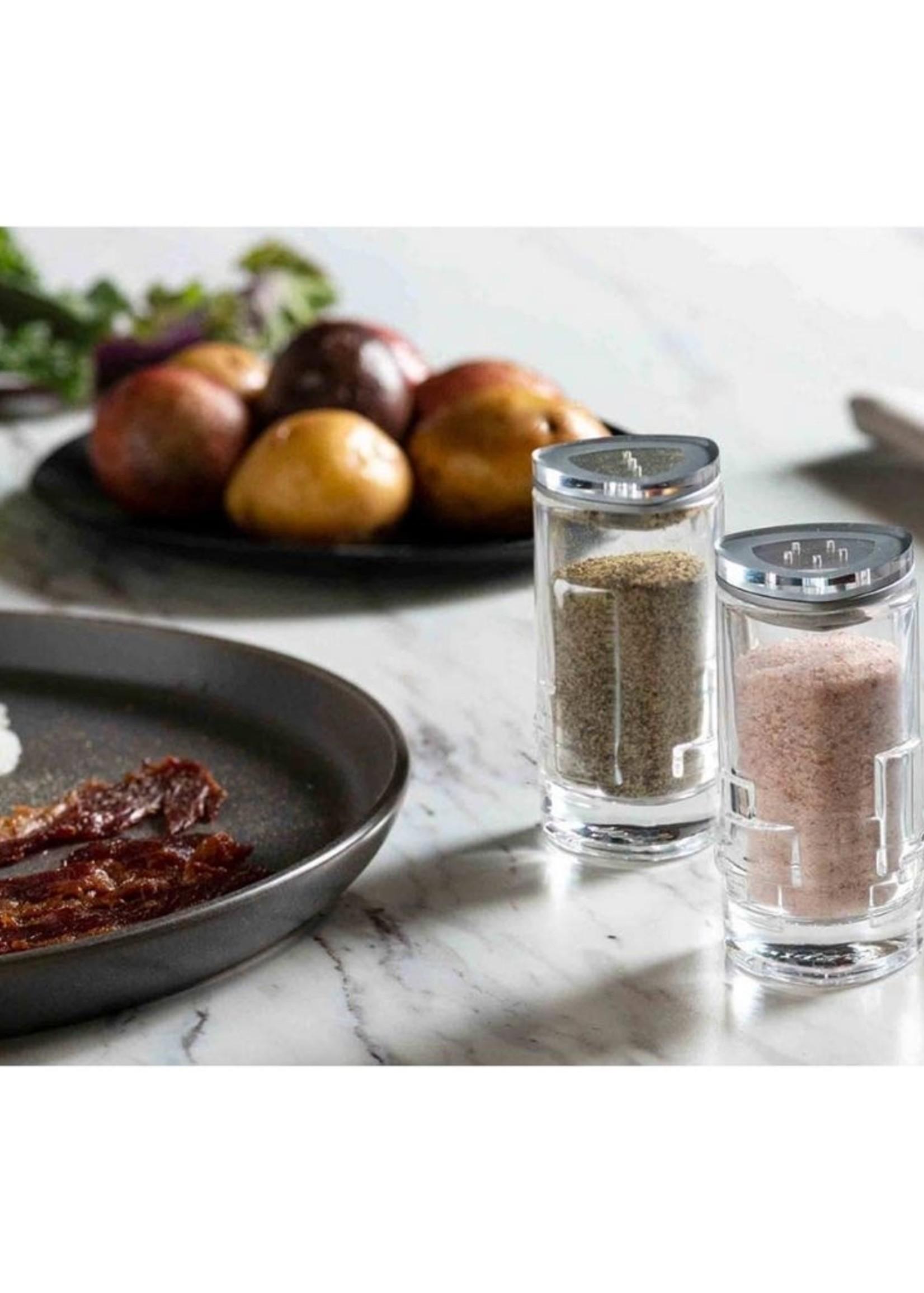 Revere Salt and Pepper Shakers
