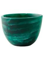 Deep Small Bowl - Emerald Swirl