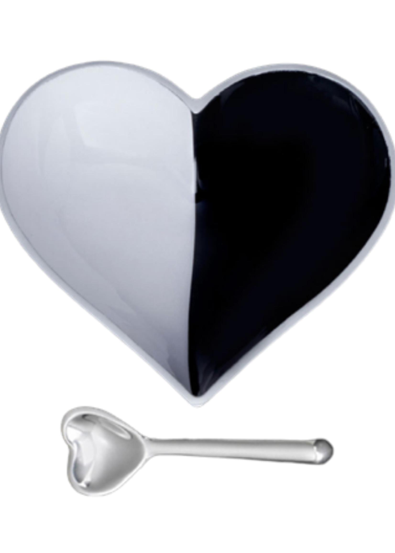 Happy Heart Bowl w Spoon // B/W Cookie