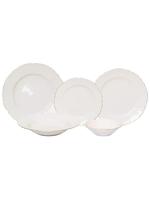 Vikko Luxe - Bernadotte Gold Ivory Dinnerware Set-20 pc