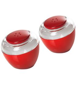 Red Acrylic Salt Shakers