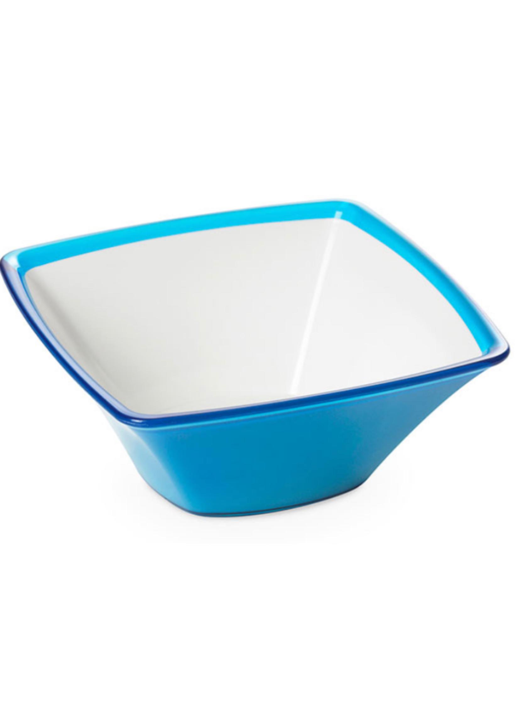 Square Medium Acrylic Bowl // Turquoise