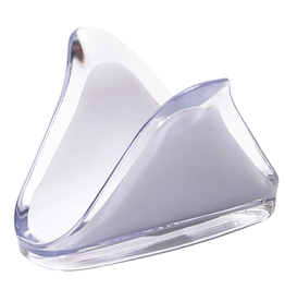 Square Acrylic Napkin Holder // White
