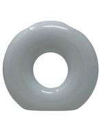 O Washing Cup   Vase White Glitter
