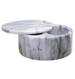 Salt Box //  White Marble