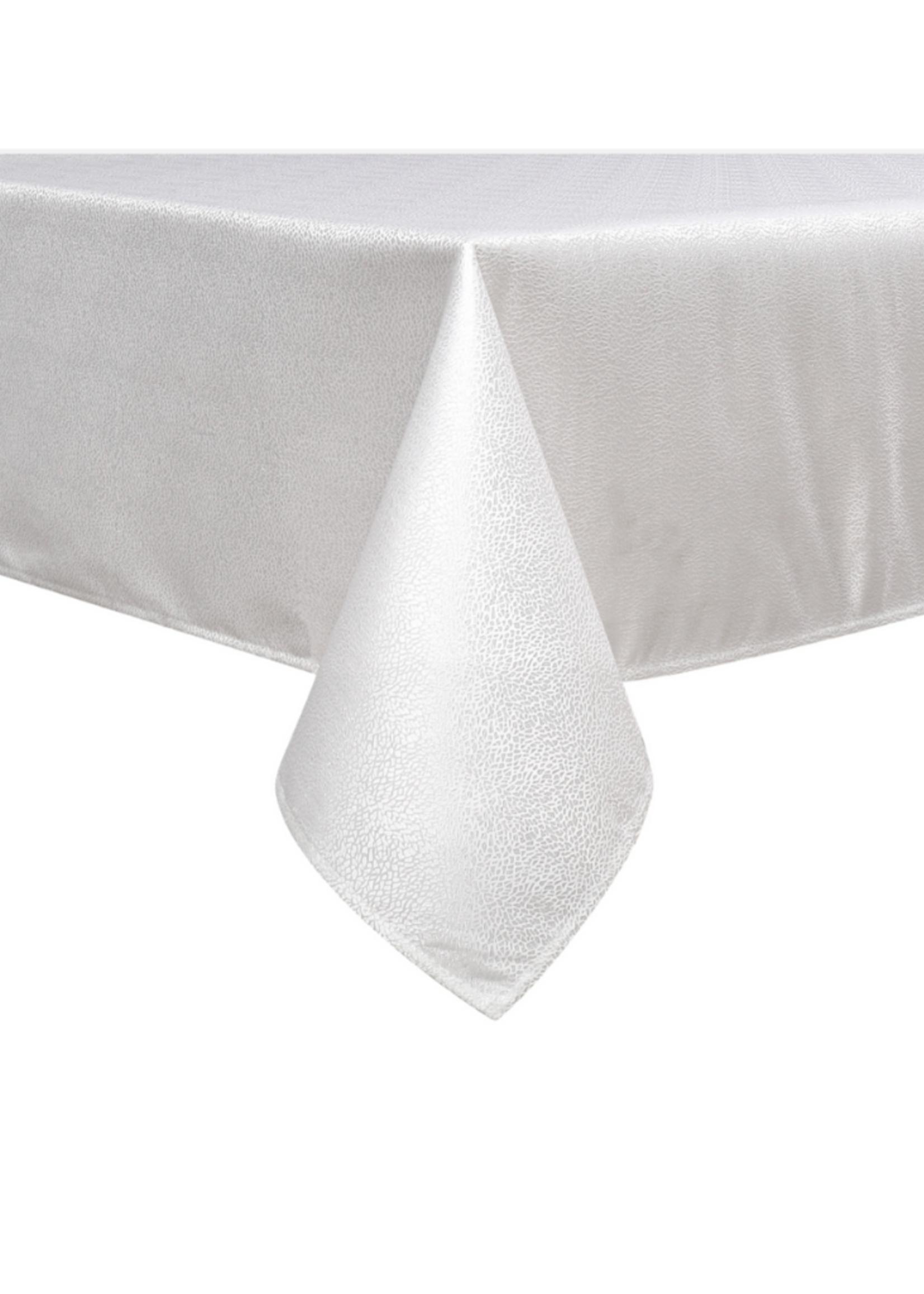 Jacquard Tablecloth // White Slate #1345