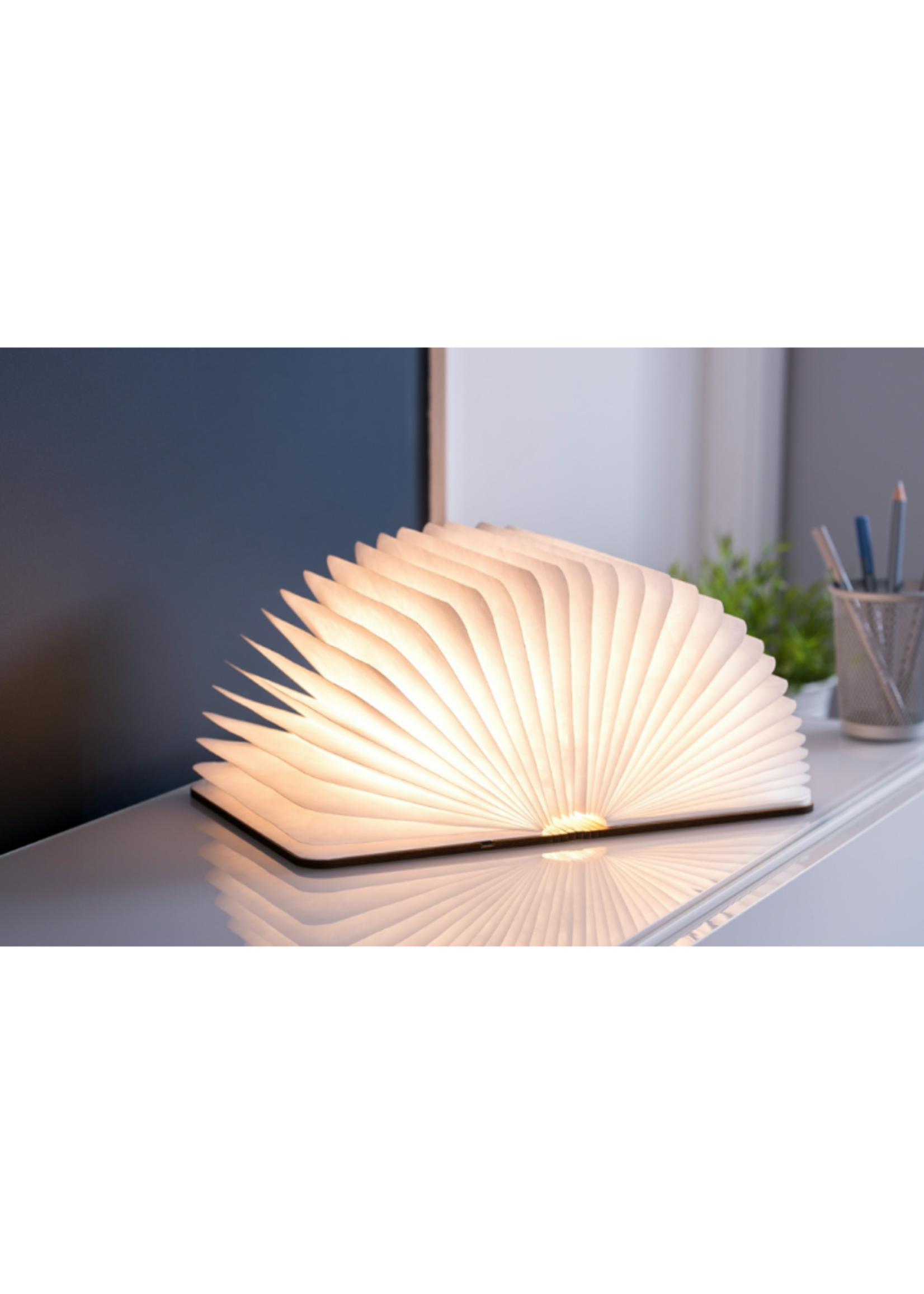 Natural Wood Smart Book Light // Walnut