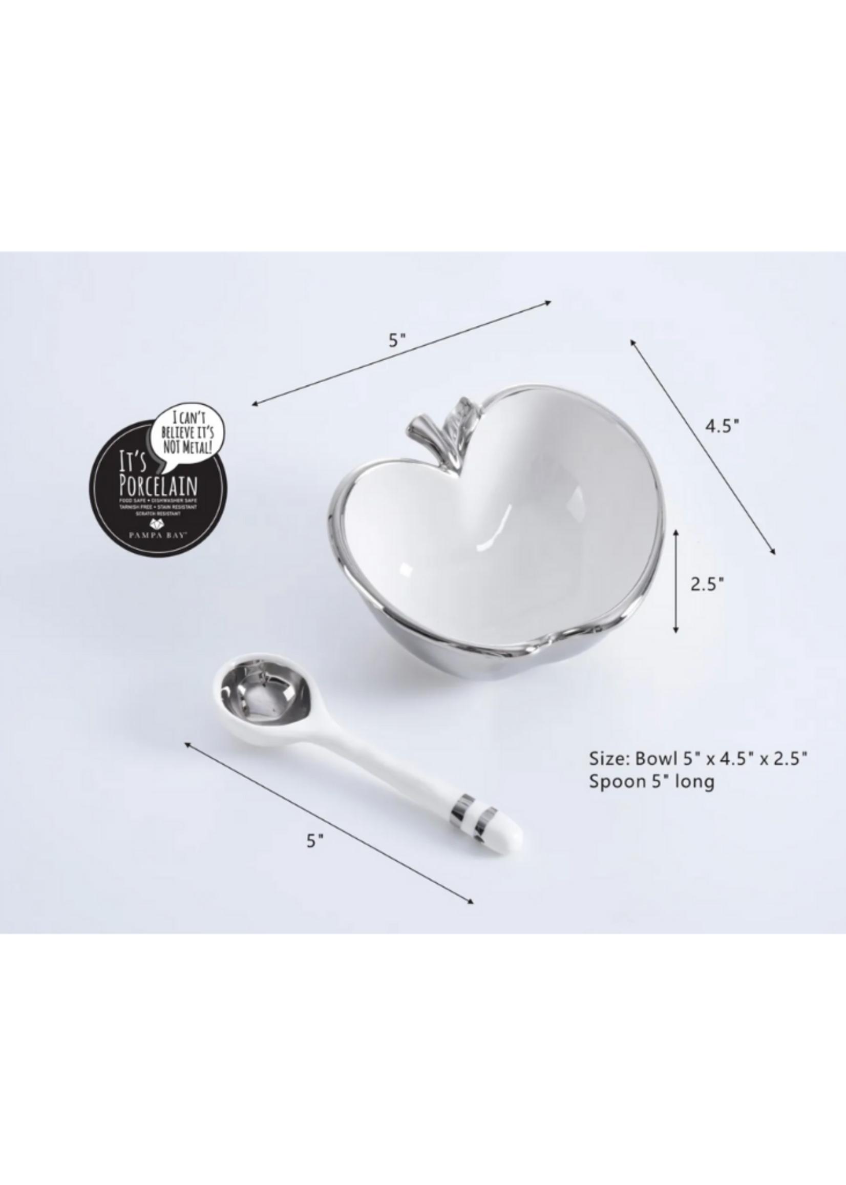 Apple Set // Silver