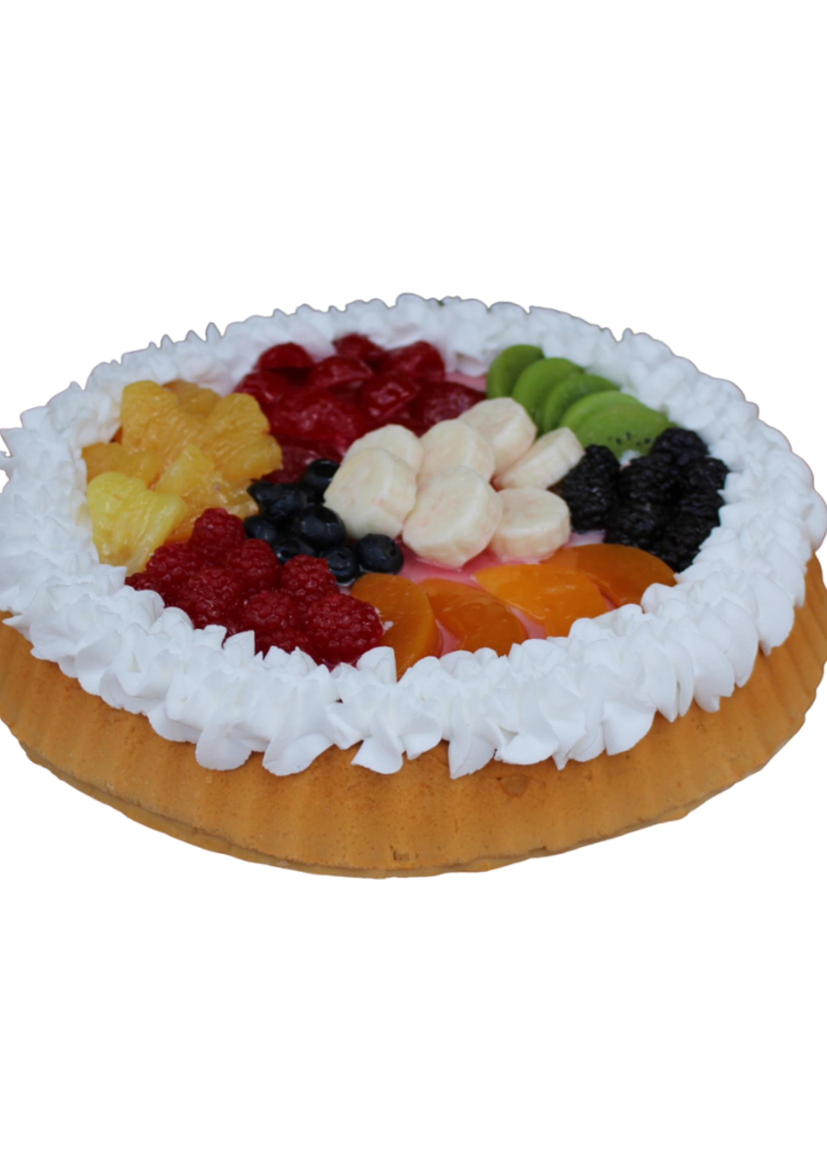 """Mixed Fruit Tart // 10"""""""