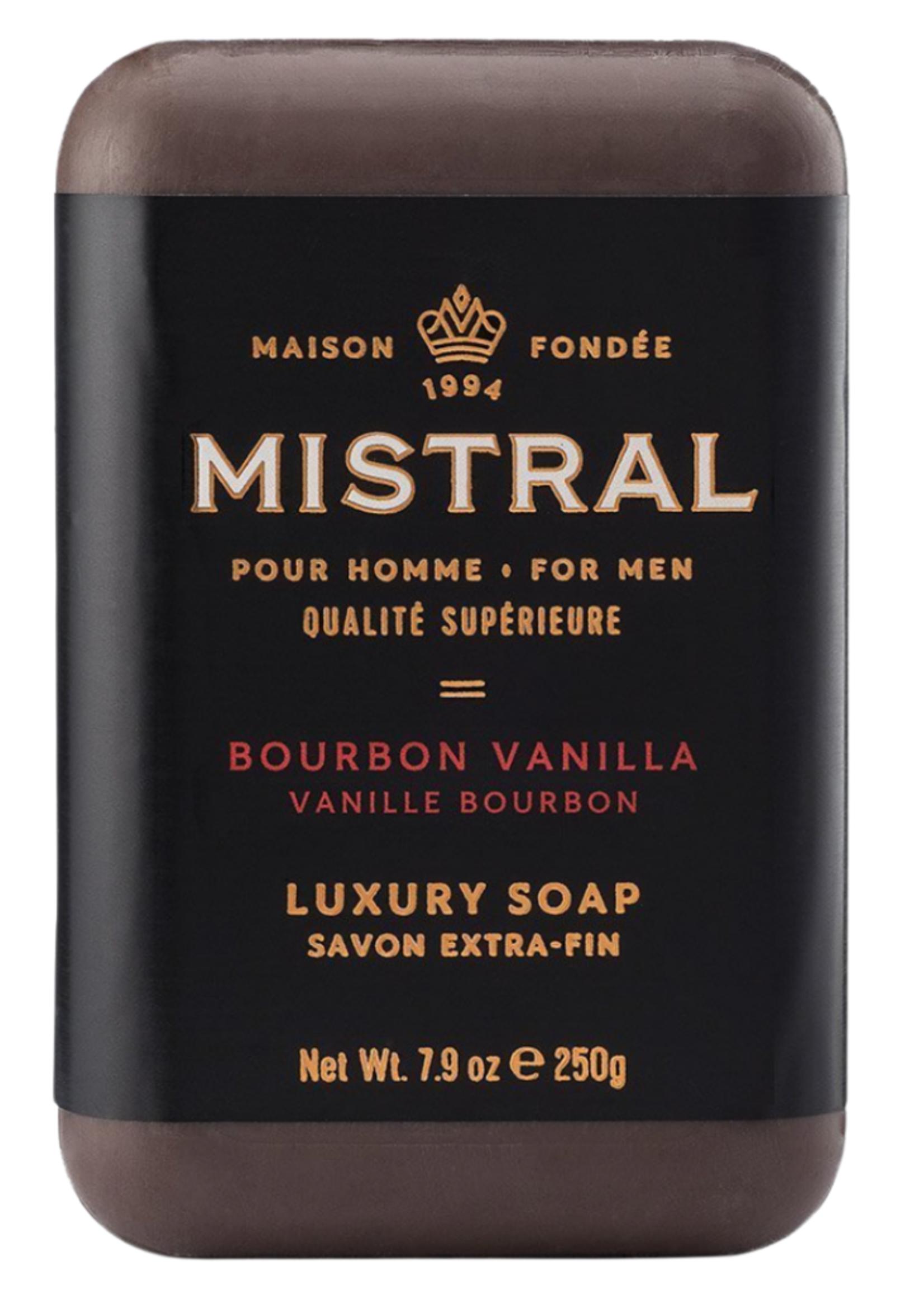 Mens Eau De Parfum & Bar Soap Set // Bourbon Vanilla