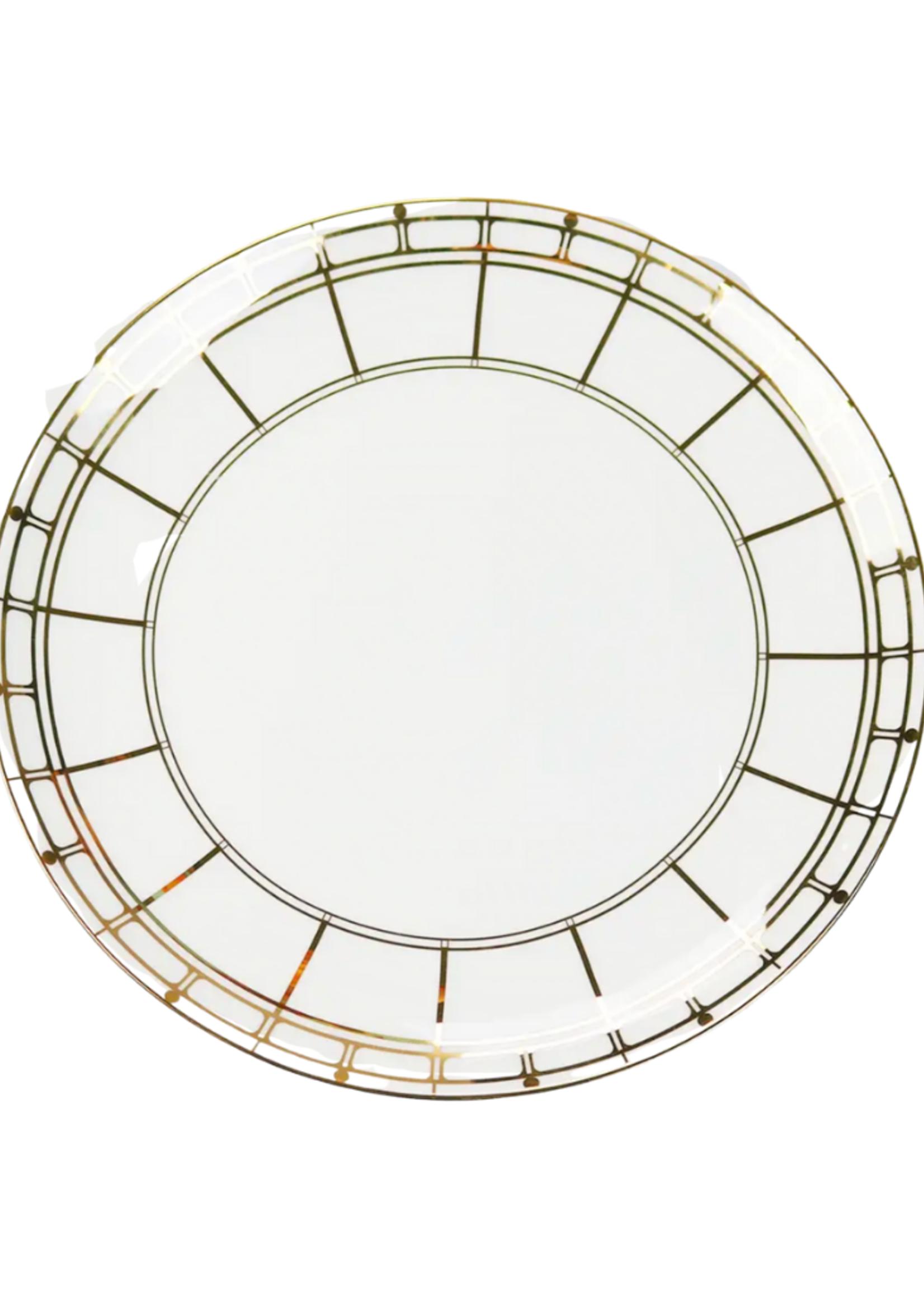 Gold Izmir Dinner Plate // Set of 4