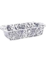 Splatter Loaf Pan // Grey Marble