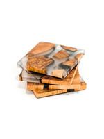 Cedar & Resin Coasters