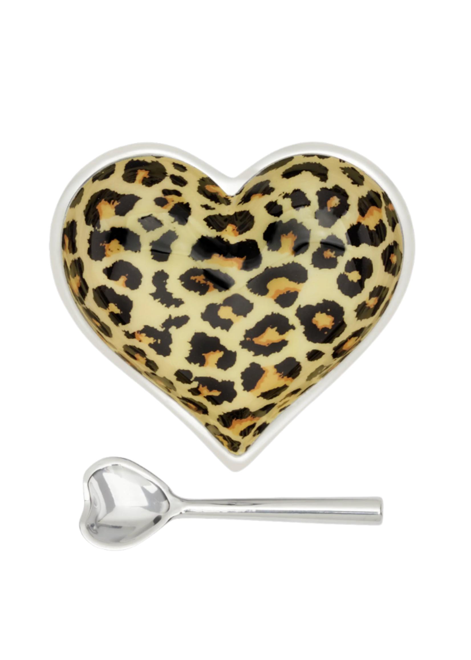 Happy Heart Bowl w Spoon // Jaguar