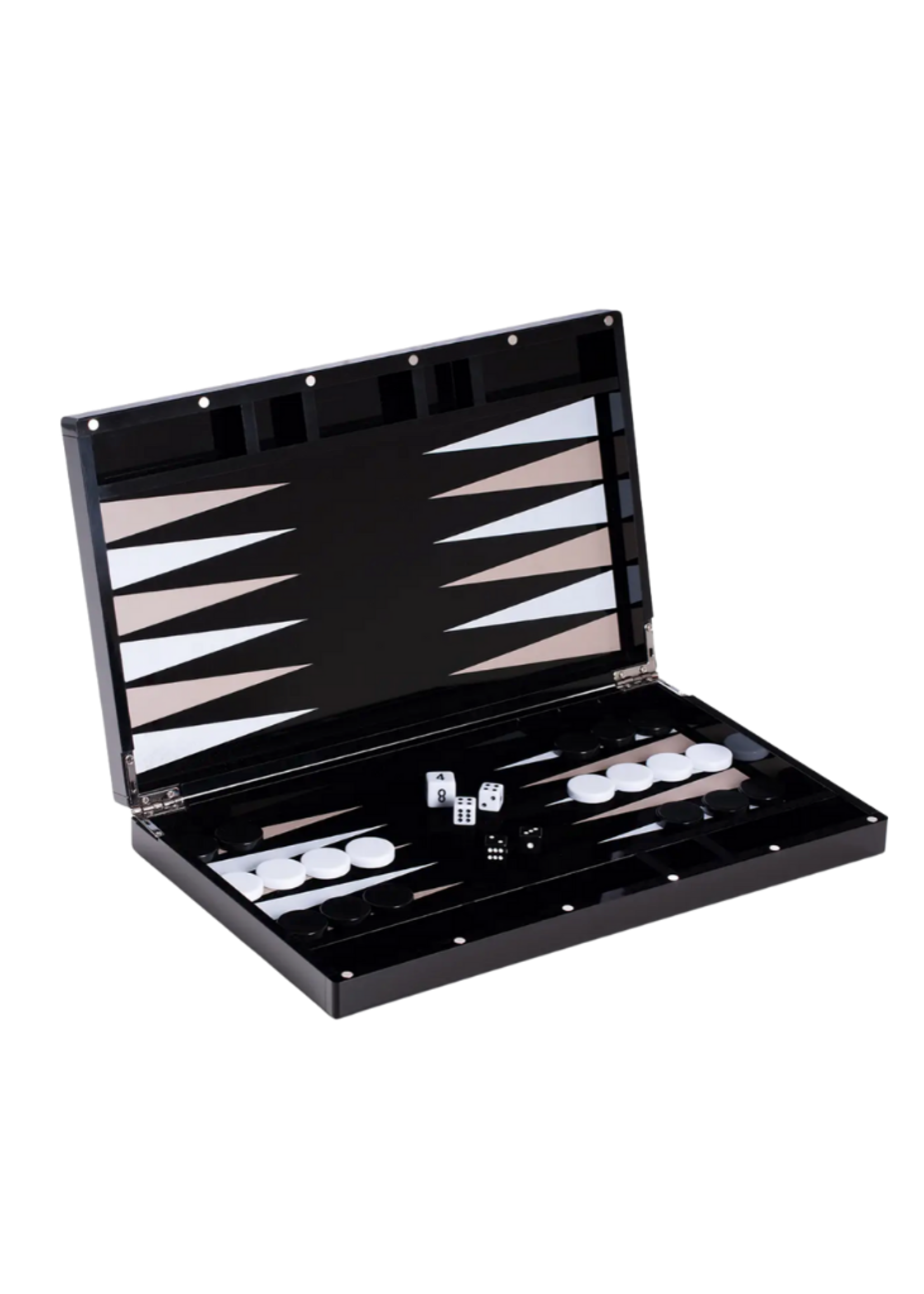 Damien Acrylic Backgammon Set