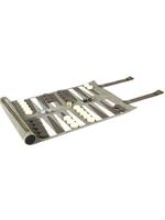 Rolled Backgammon Set // Grey