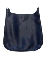 Soft Faux Leather Messenger Bag // Assorted Colors