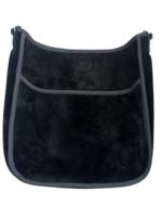 Velour Messenger Bag // Assorted Colors