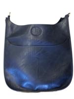 Vegan Leather Messenger Bag // Assorted Colors