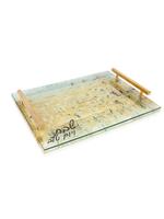 Painted Kotel Challah Board