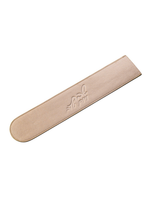 Leather Challah Knife Cover // Gold