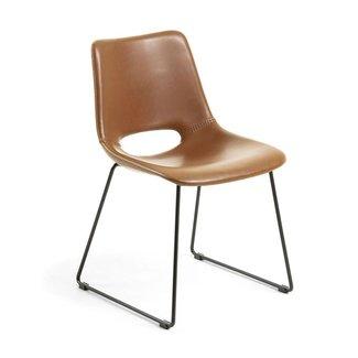 Dwell Ziggy Dining Chair - Rust
