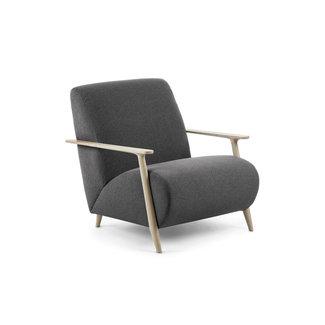Dwell Marthan Occasional Chair - Dark Grey