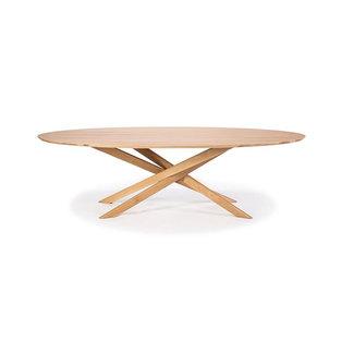 Ethnicraft Ethnicraft Mikado Oval Coffee Table - Oak