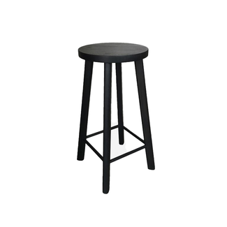 Beeline Furniture Design Calypso 4 Leg Barstool - Black