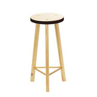 Beeline Furniture Design Calypso 3 Leg Barstool - Black