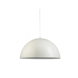 Dwell Dome Pendant - White