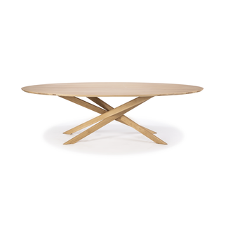 Ethnicraft Ethnicraft Mikado Oval Dining Table - Oak