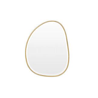 Warranbrooke Pebble Mirror - Brass