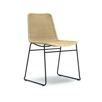 Feelgood Designs C607 Dining Chair  - Wheat Rattan (Indoor / Outdoor)