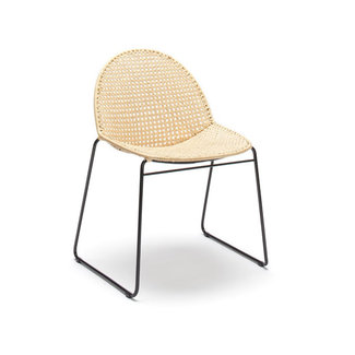 Feelgood Designs Reef Dining Chair - Natural Rattan (Indoor)