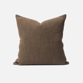Citta Design Citta Heavy Linen Jute Cushion - Bark