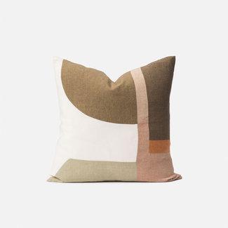 Citta Design Citta Zaha Patchwork Cushion - Multi