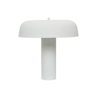 Globewest Easton Canopy Table Lamp - White