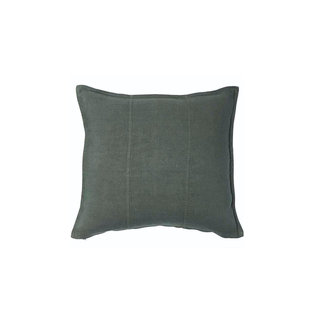 Luca Linen Cushion  -  Khaki